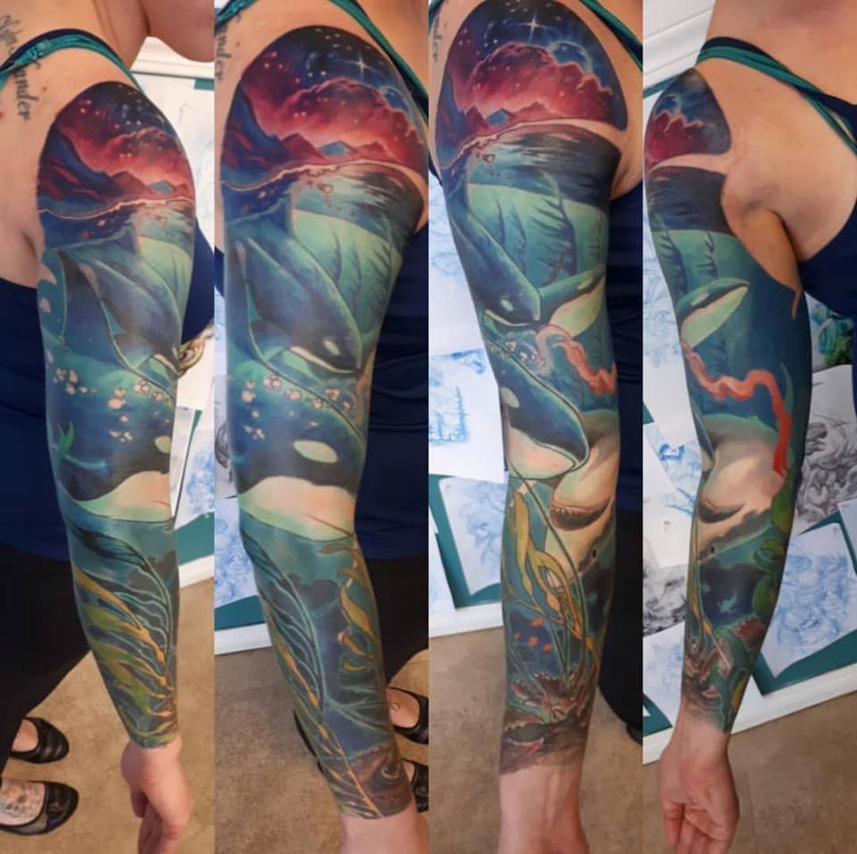 Adrian Kalyn Tattoo 2019 Okanagan Tattoo Show & Brewfest Artist