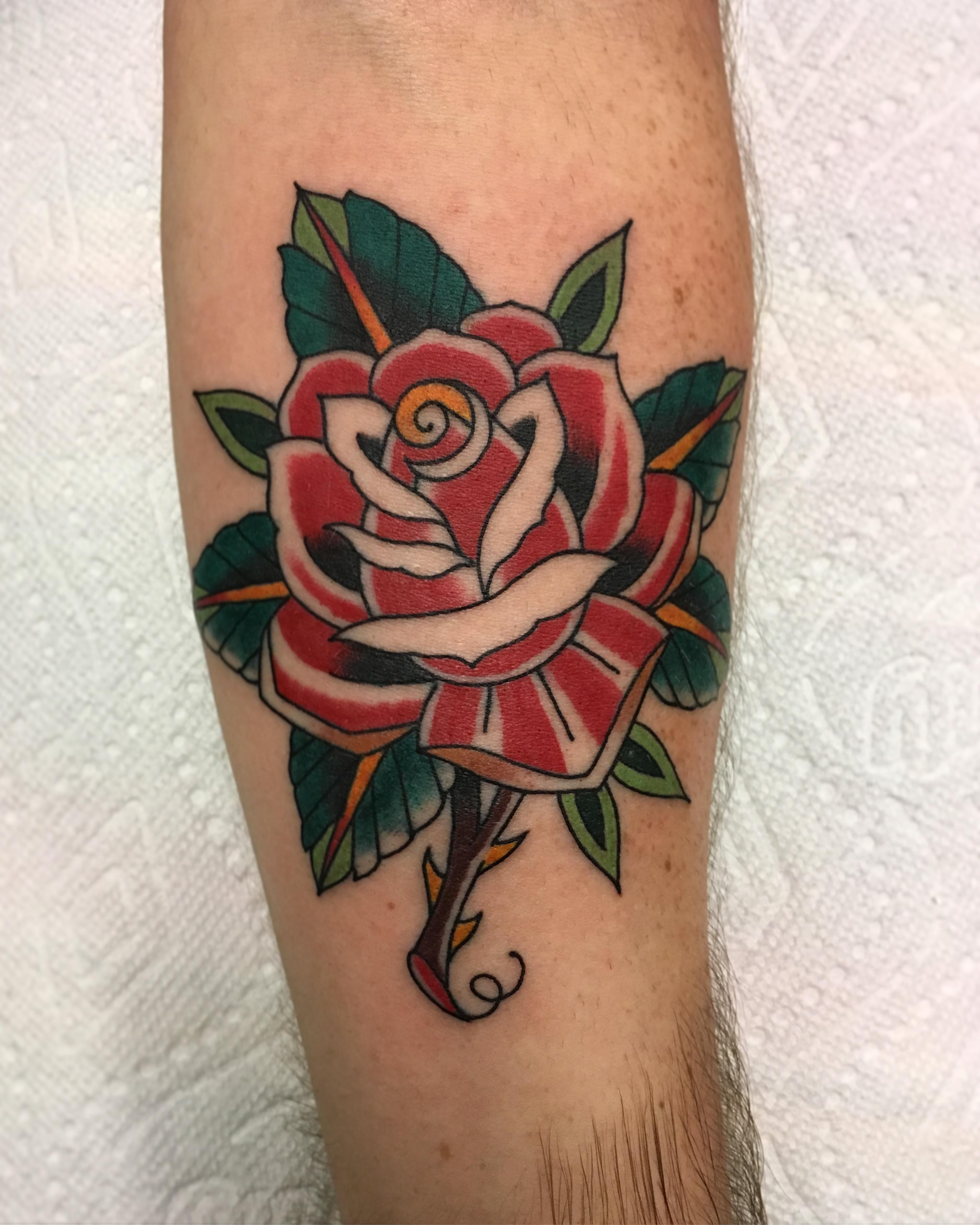 Andrew McDonald Tattoo 2019 Okanagan Tattoo Show & Brewfest Artist