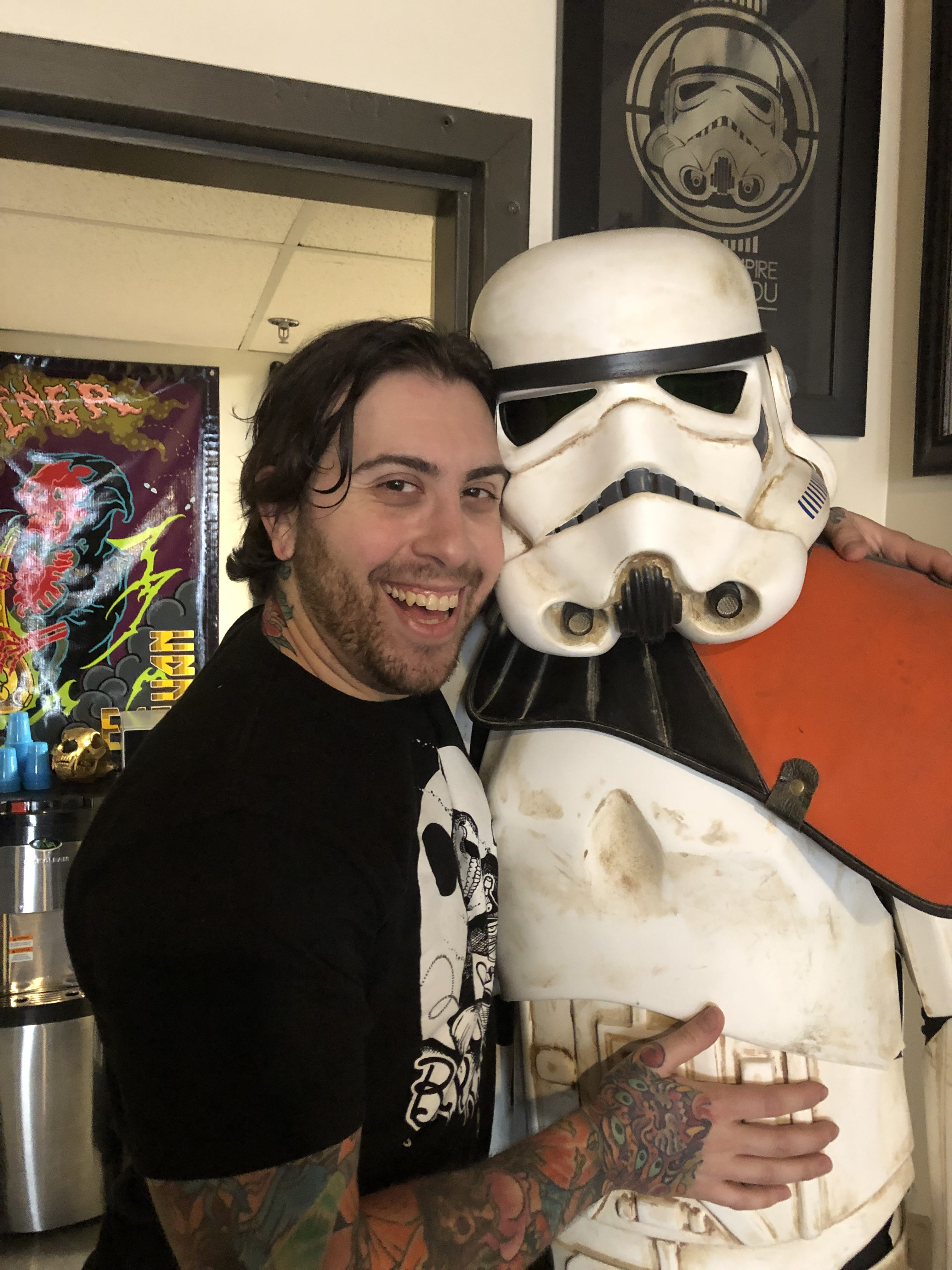 Carlo D'Onnofrio 2019 Okanagan Tattoo Show & Brewfest Artist