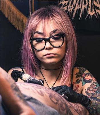 Christina Christie 2019 Okanagan Tattoo Show & Brewfest Featured Artist