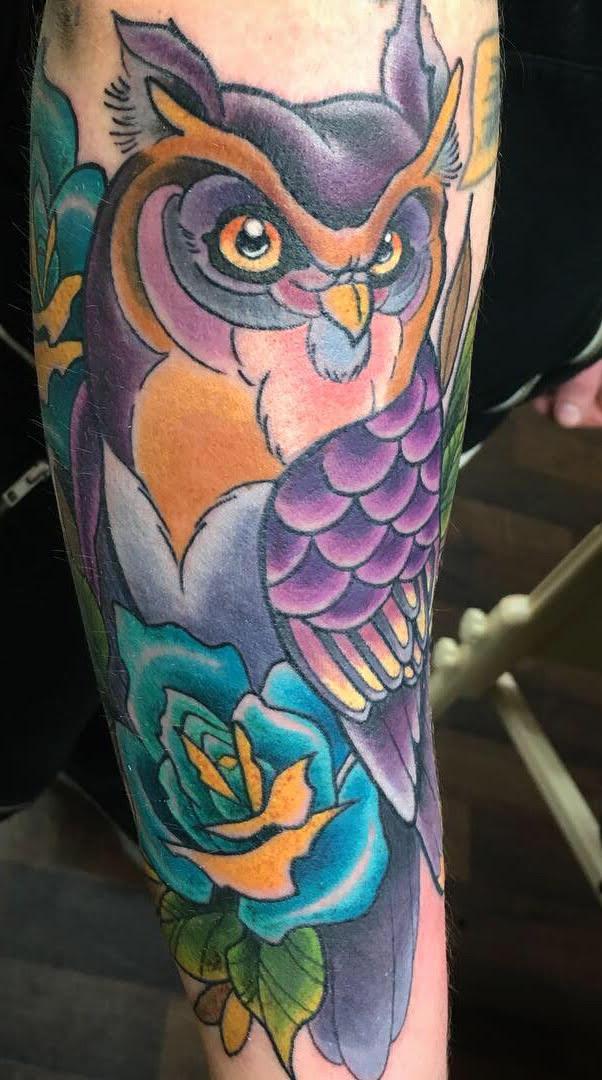 Corey Lyon Tattoo 2019 Okanagan Tattoo Show & Brewfest Artist