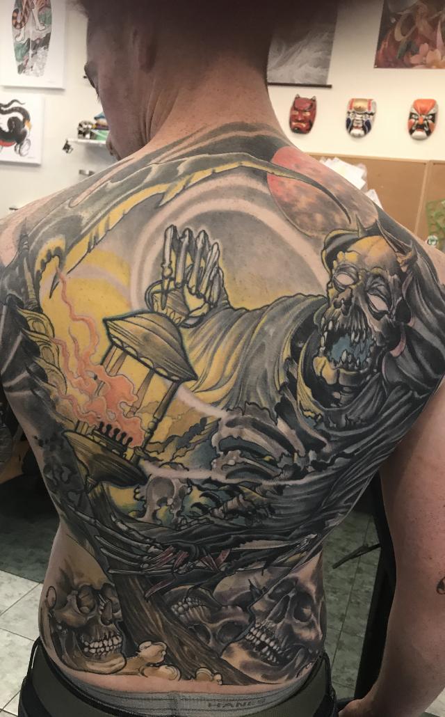 Cory Farrell Tattoo 2019 Okanagan Tattoo Show & Brewfest Artist