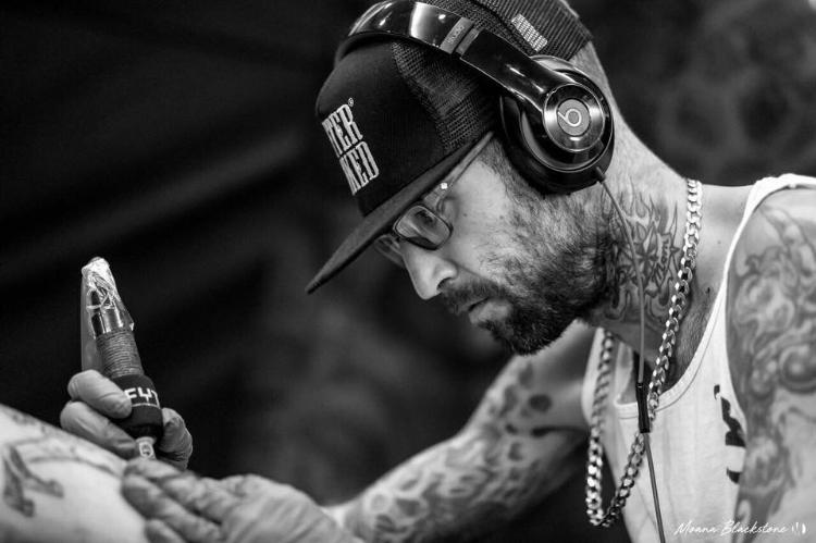 DanBertram 2019 Okanagan Tattoo Show & Brewfest Artist