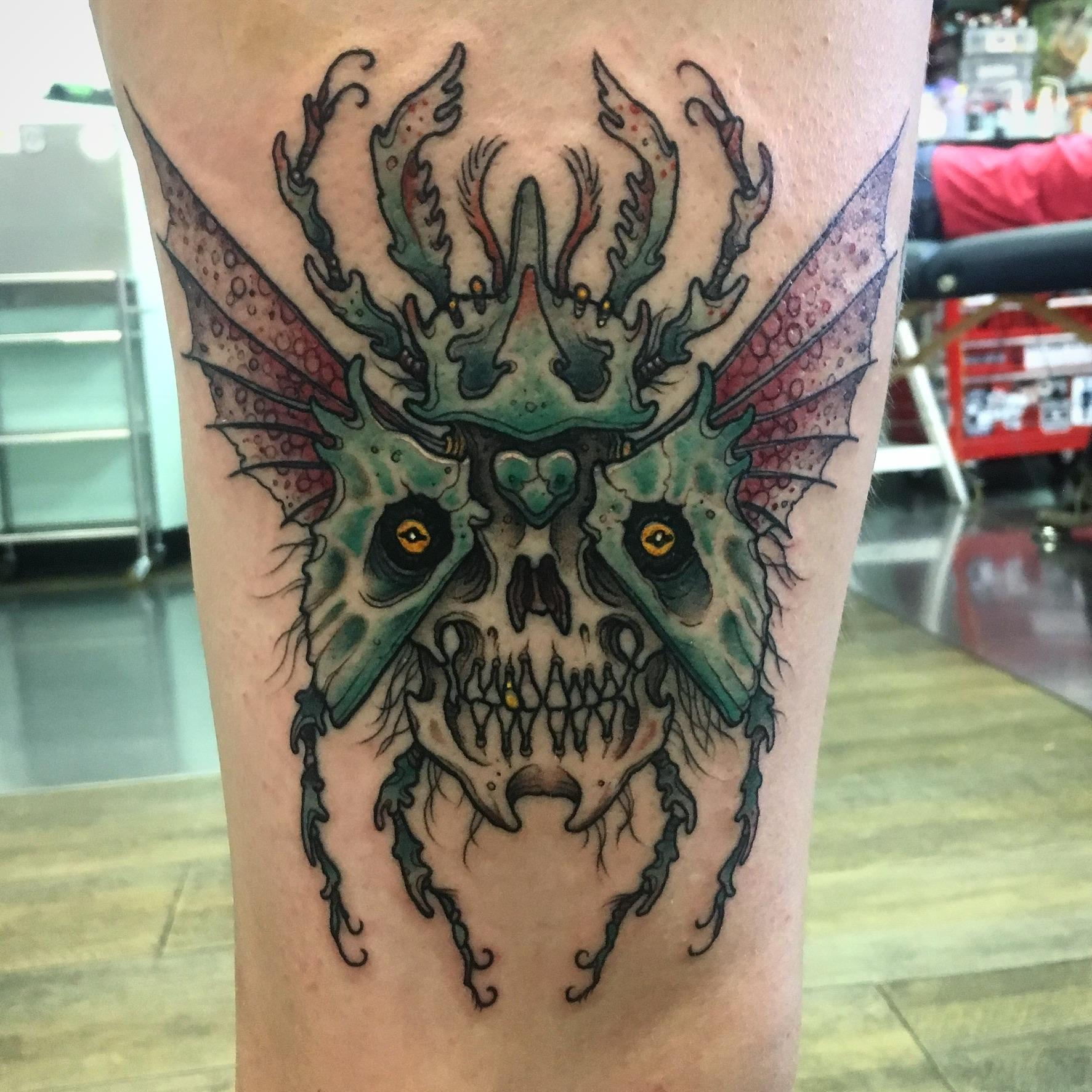 Dan Cameron Tattoo