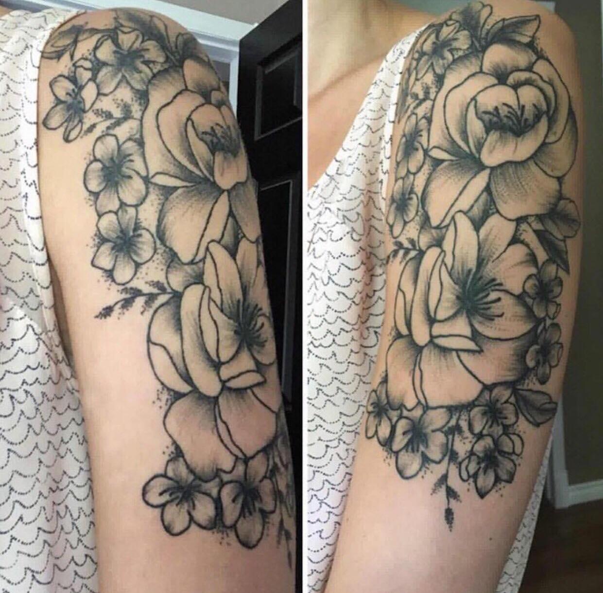Dani Mea tattoo 2019 Okanagan Tattoo Show & Brewfest Artist