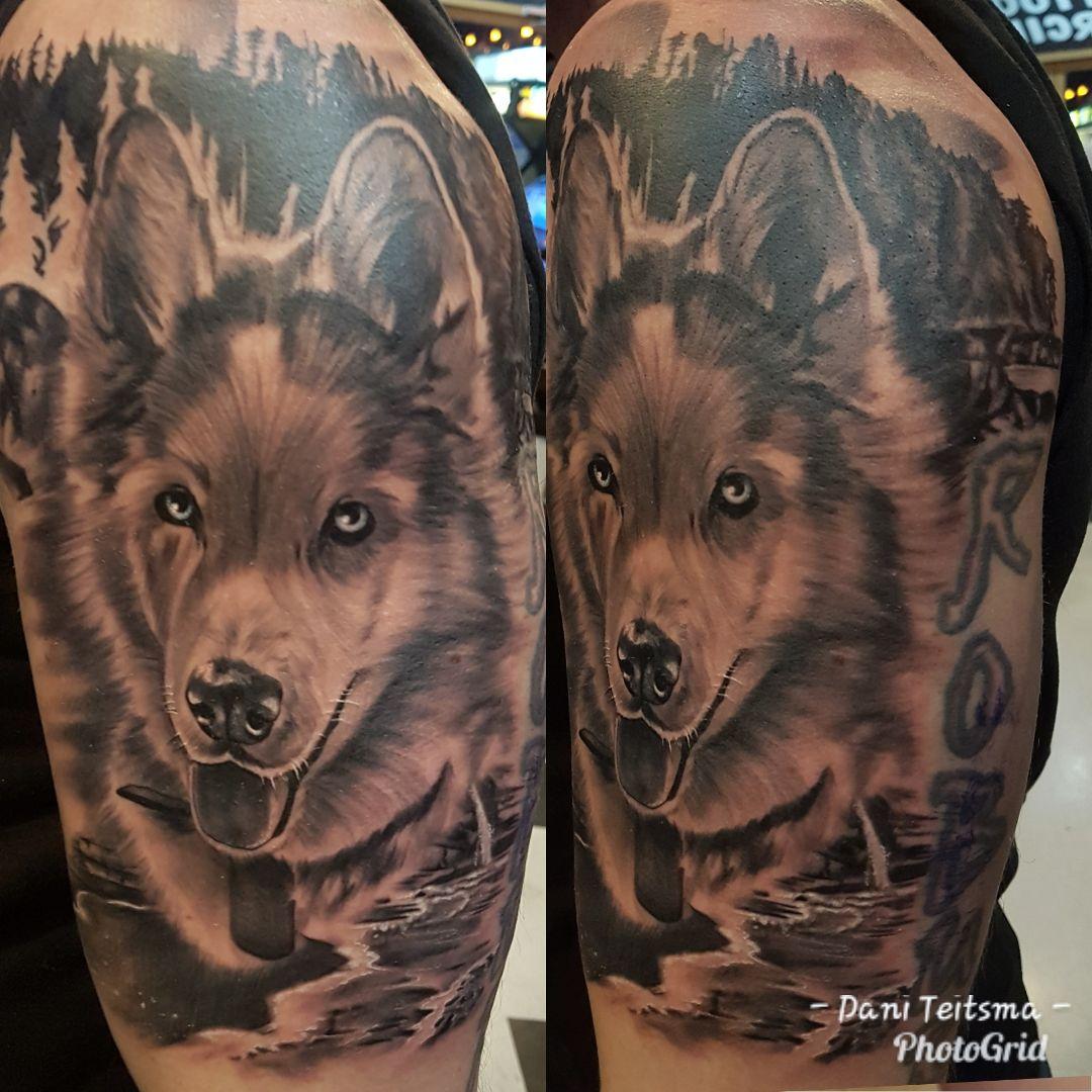 Dani Teitsma tattoo 2019 Okanagan Tattoo Show & Brewfest Artist