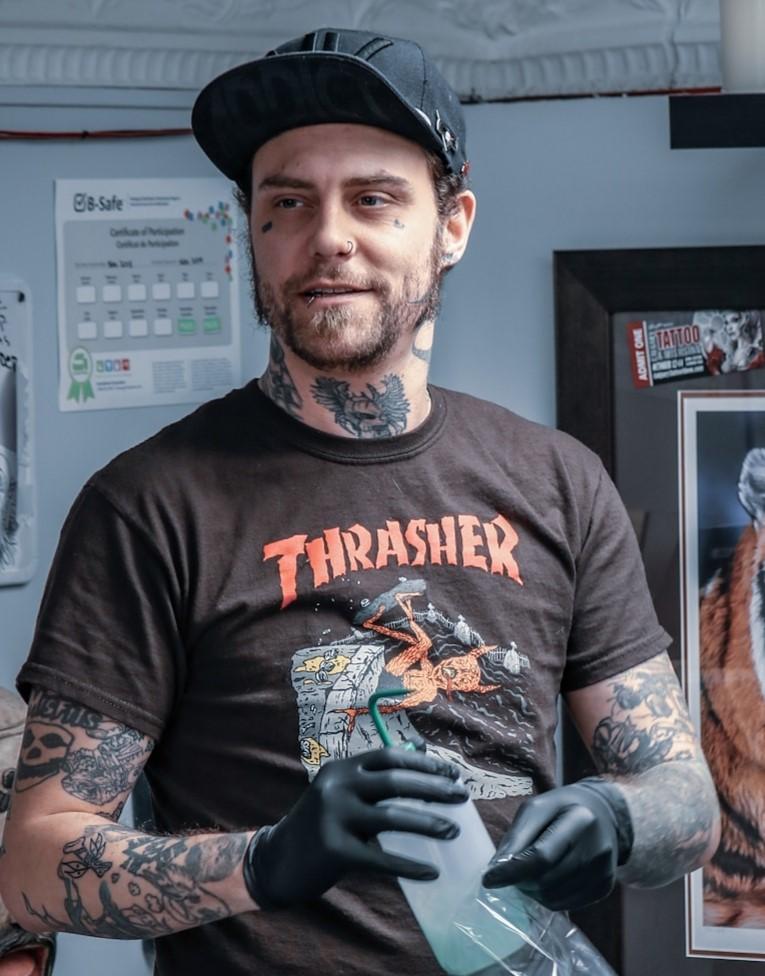 DannyDeuce 2019 Okanagan Tattoo Show & Brewfest Artist
