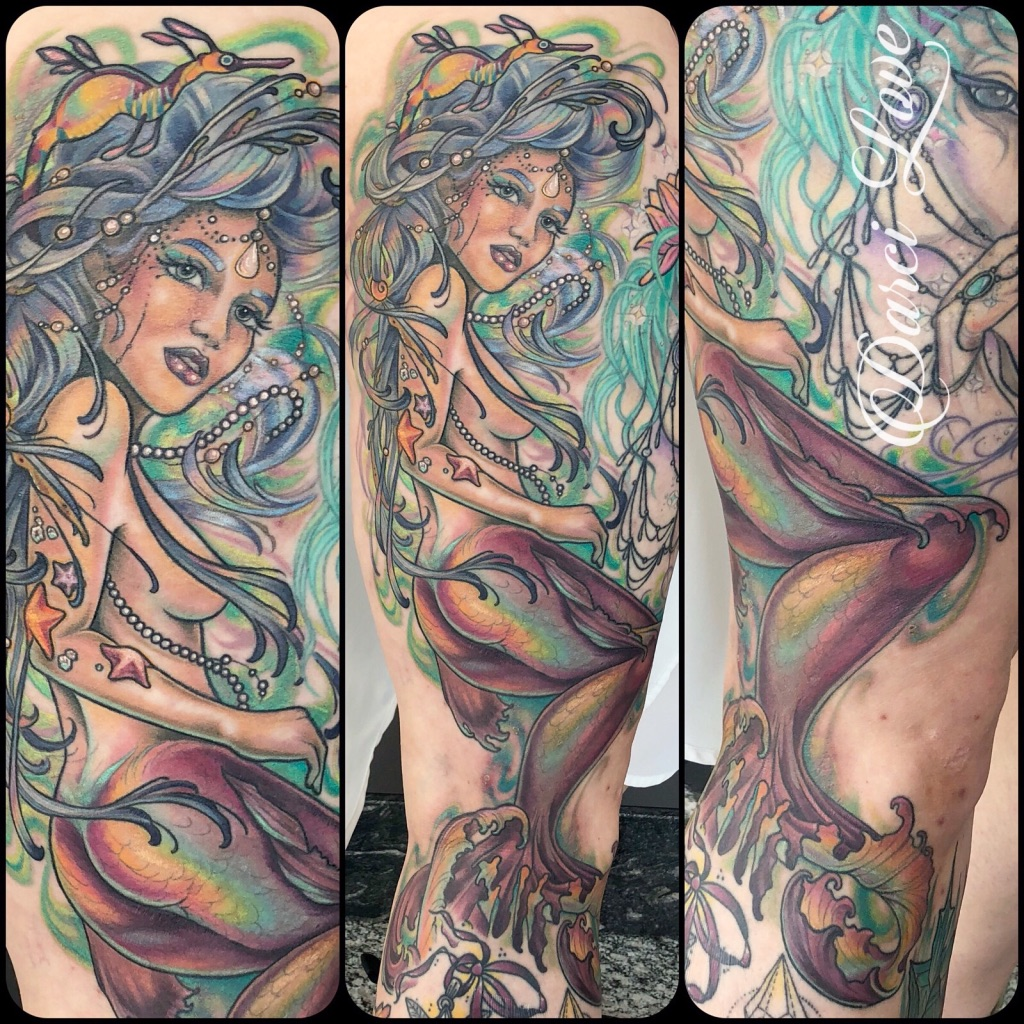 Darci LOVE Tattoo 2019 Okanagan Tattoo Show & Brewfest Artist