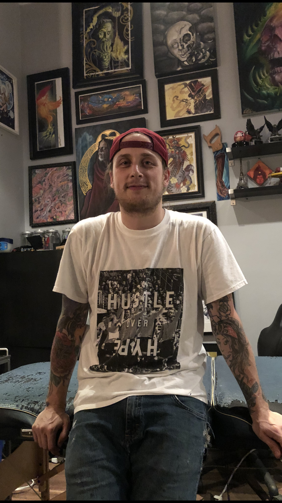 Devin Boutcher 2019 Okanagan Tattoo Show & Brewfest Artist