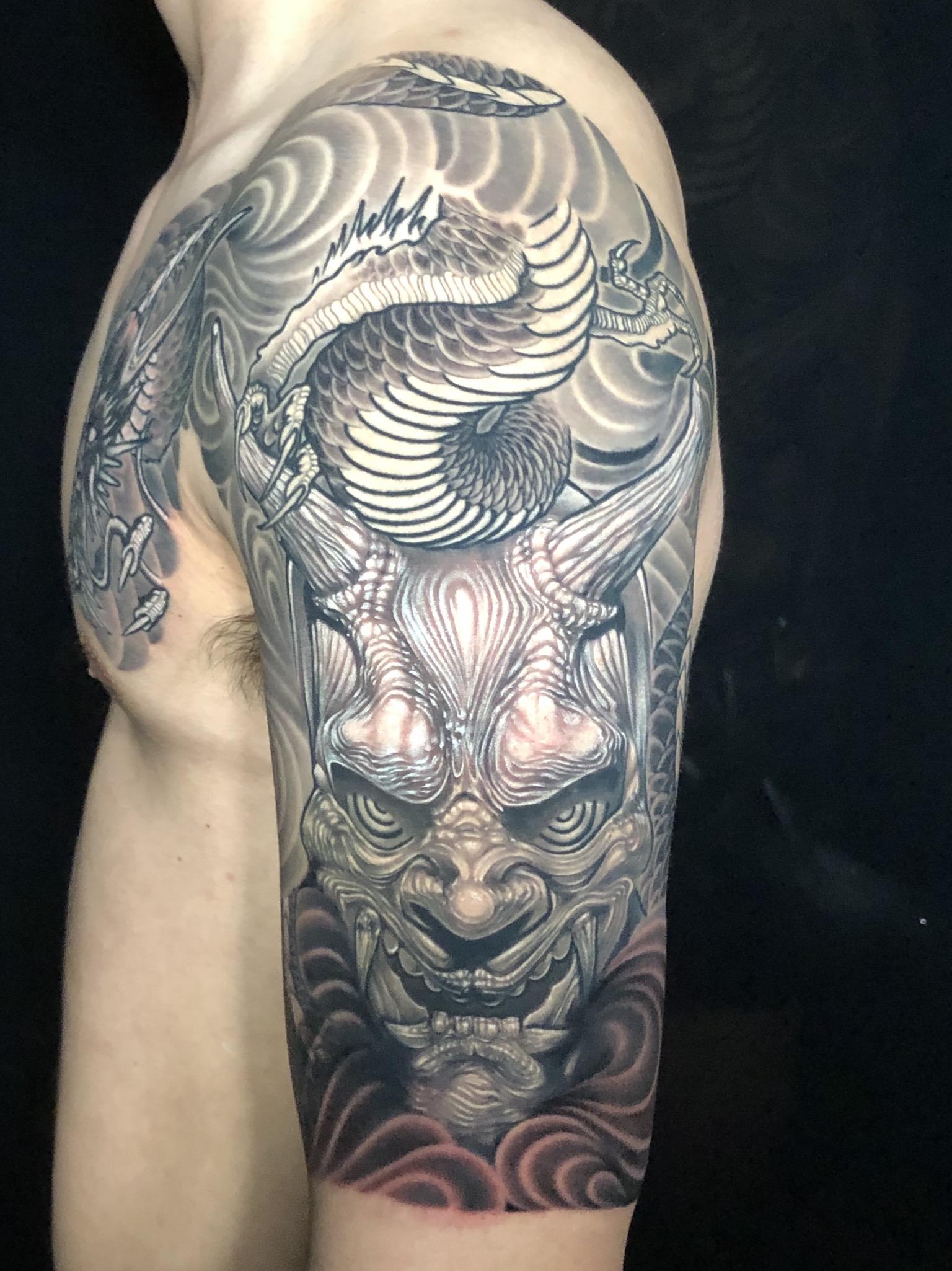 Eddie Molina Tattoo 2019 Okanagan Tattoo Show & Brewfest Artist