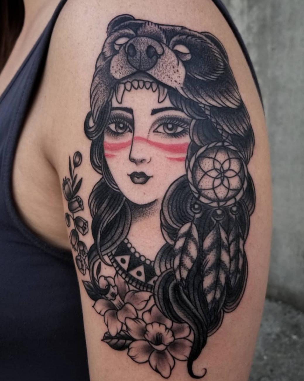 Fabiana Philpott Tattoo 2019 Okanagan Tattoo Show & Brewfest Artist