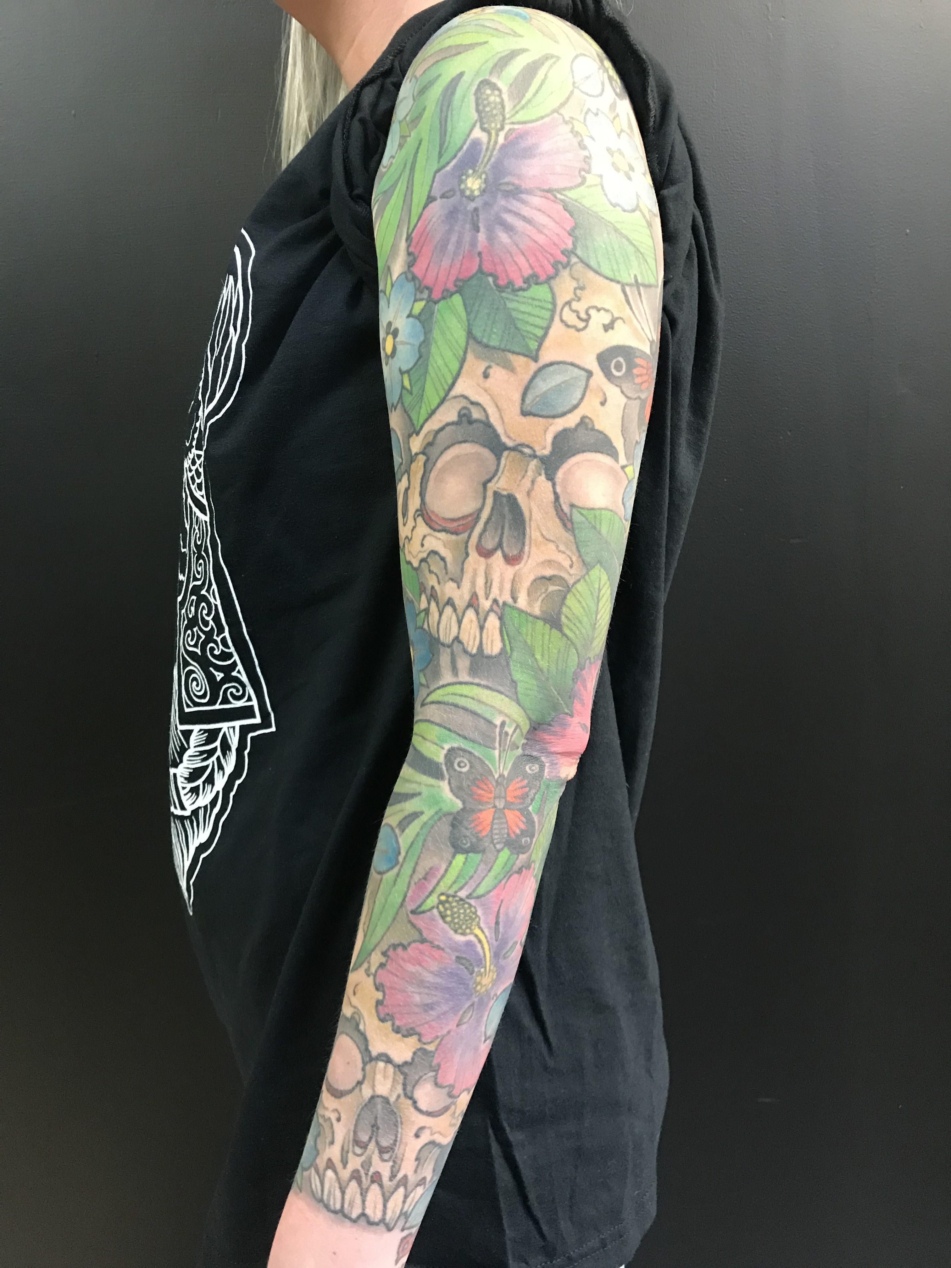 Forrest Makay tattoo 2019 Okanagan Tattoo Show & Brewfest Artist