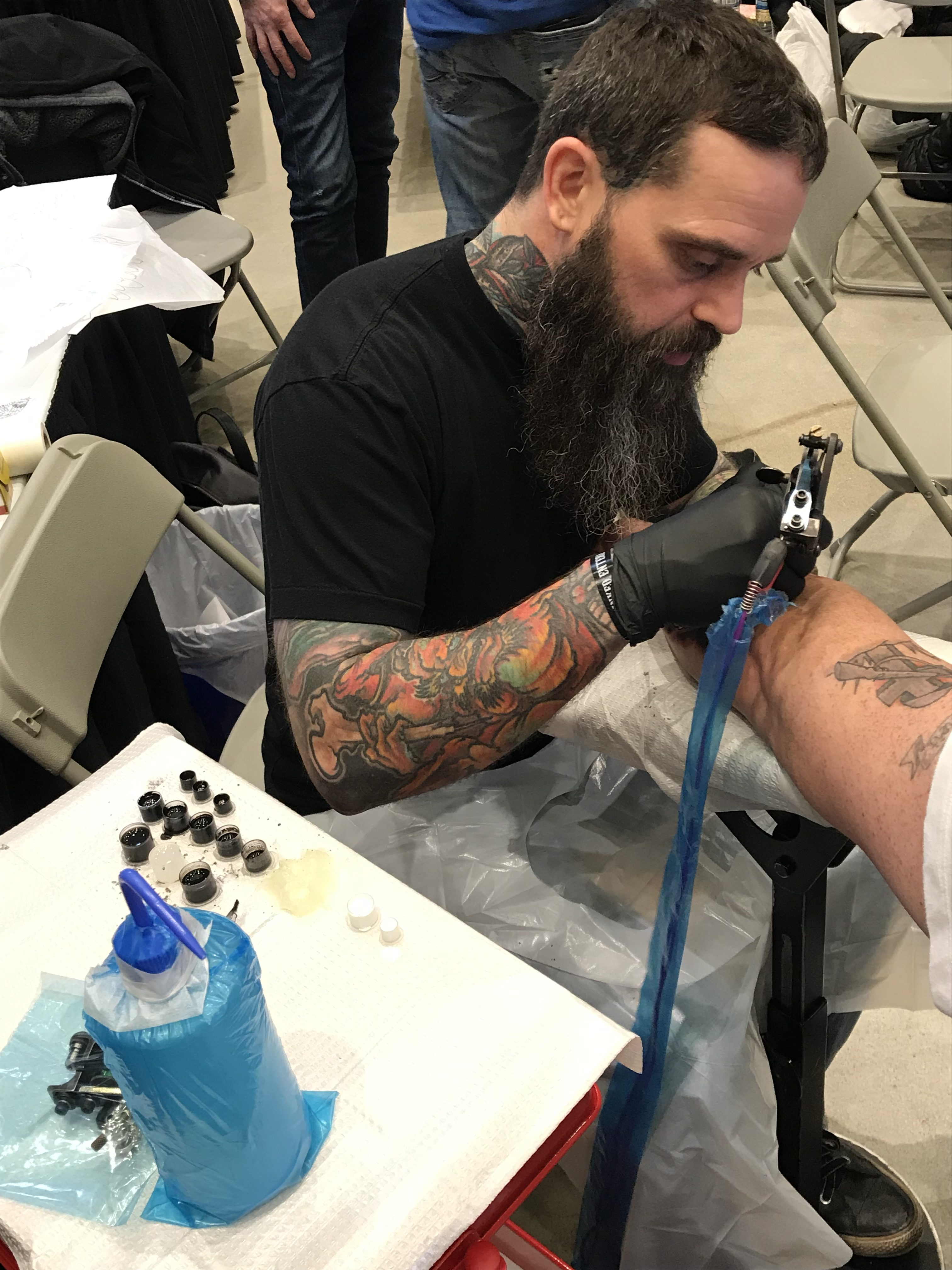 Forrest Makay 2019 Okanagan Tattoo Show & Brewfest Artist