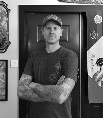 James Tex 2019 Okanagan Tattoo Show & Brewfest Featured Artist