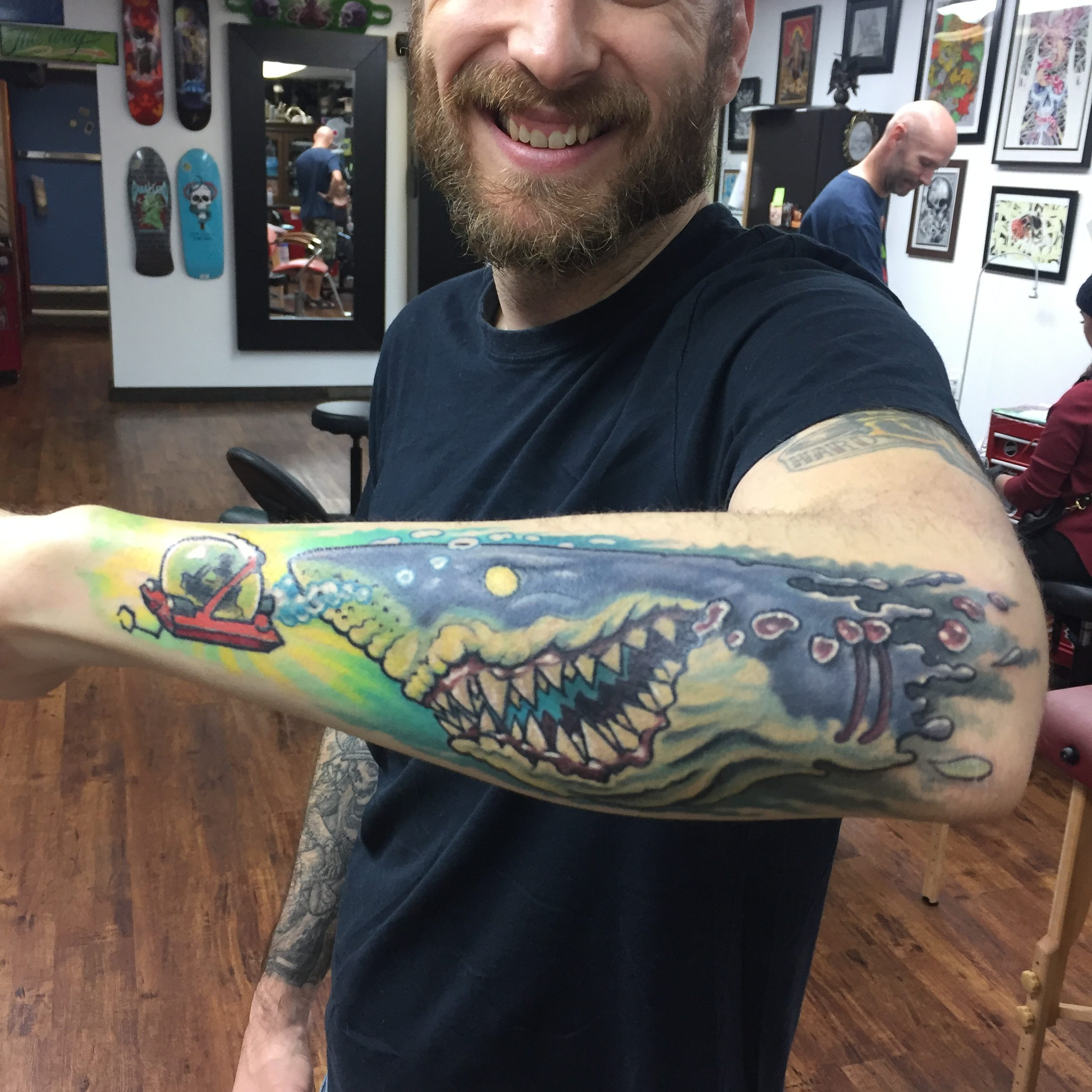 Jason Wainwright Tattoo 2019 Okanagan Tattoo Show & Brewfest Artist