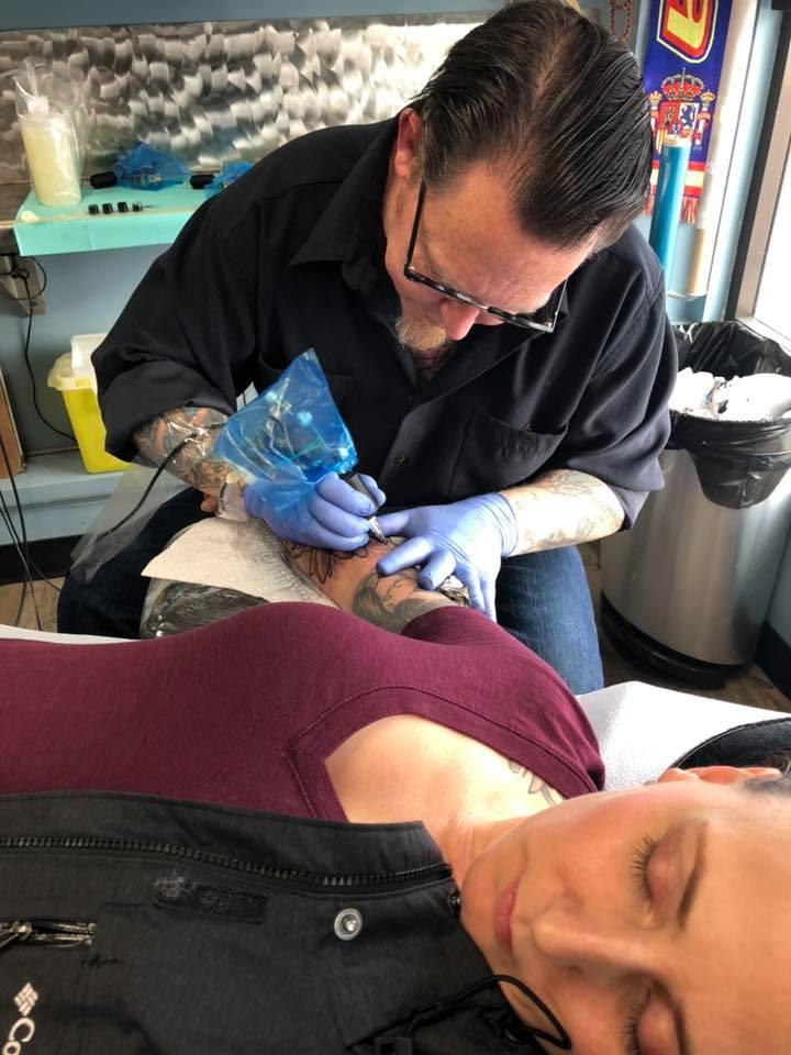 Jeff White 2019 Okanagan Tattoo Show & Brewfest Artist
