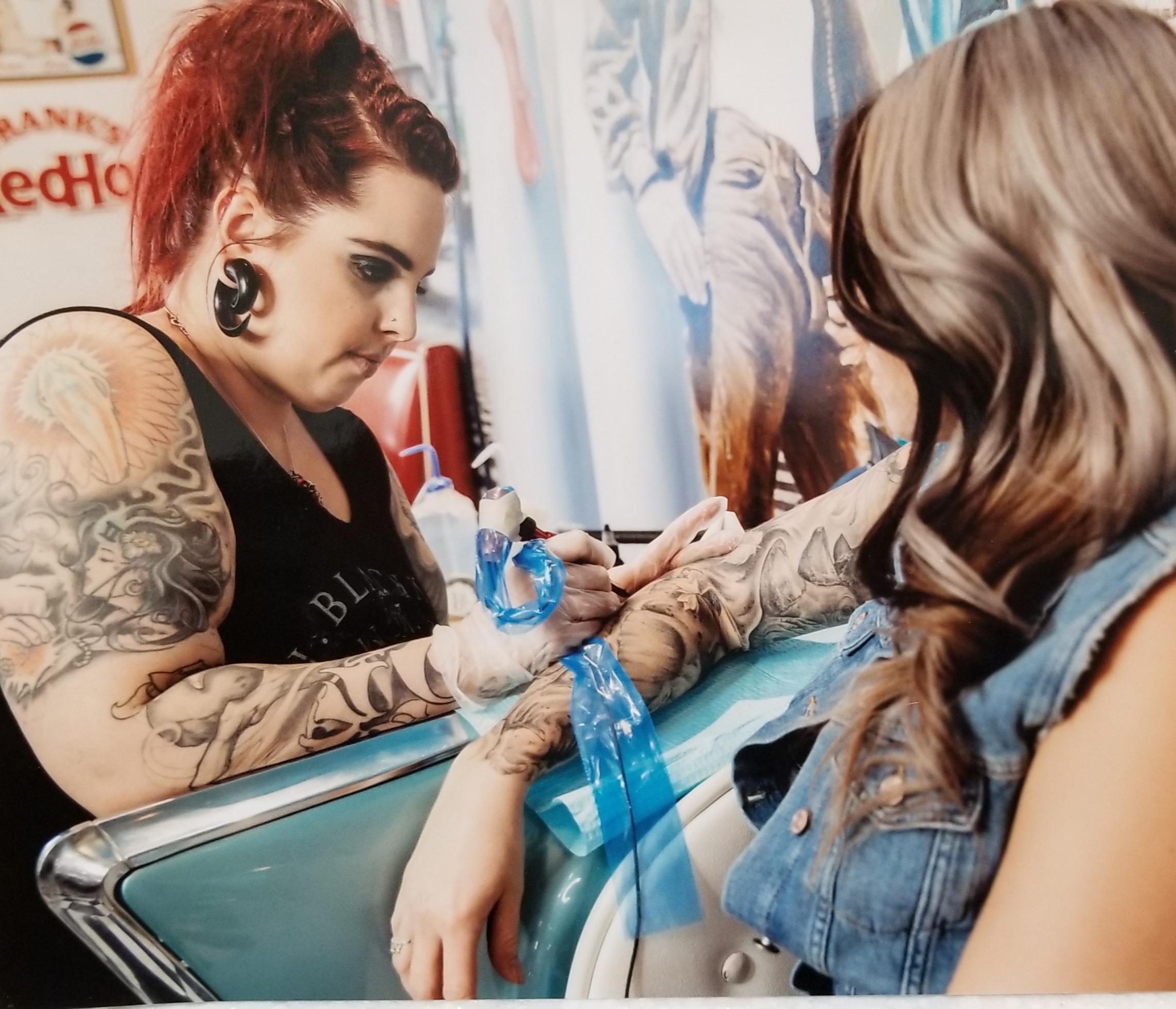 Jenn Willits 2019 Okanagan Tattoo Show & Brewfest Artist