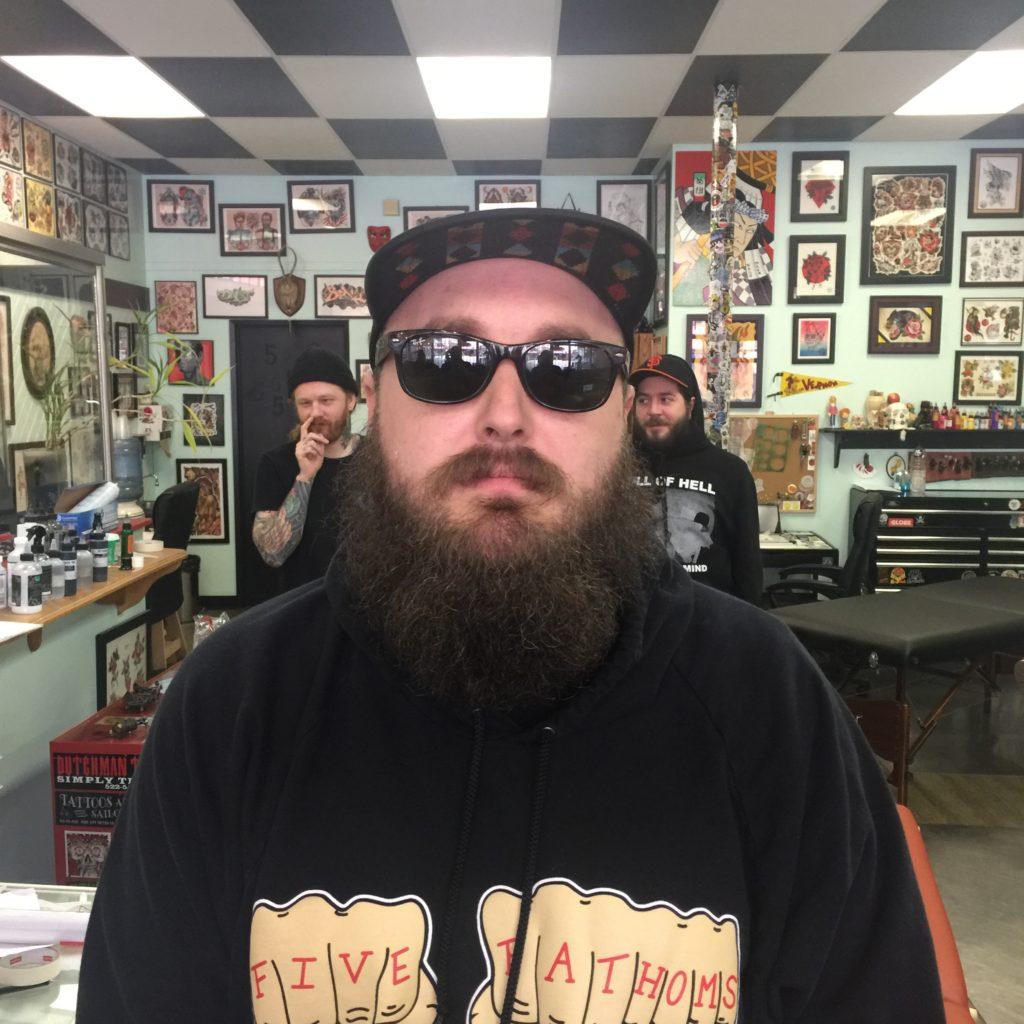 Jeremy Mathieson 2019 Okanagan Tattoo Show & Brewfest Artist