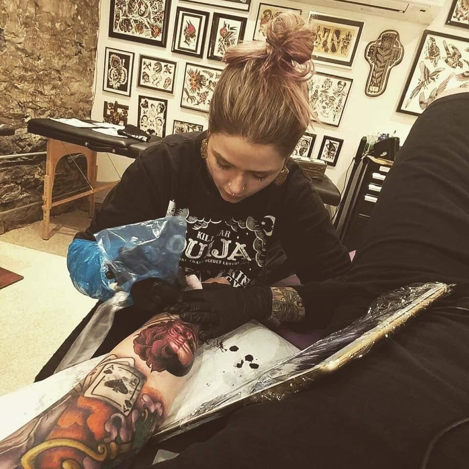 Jessica Purplekid 2019 Okanagan Tattoo Show & Brewfest Artist