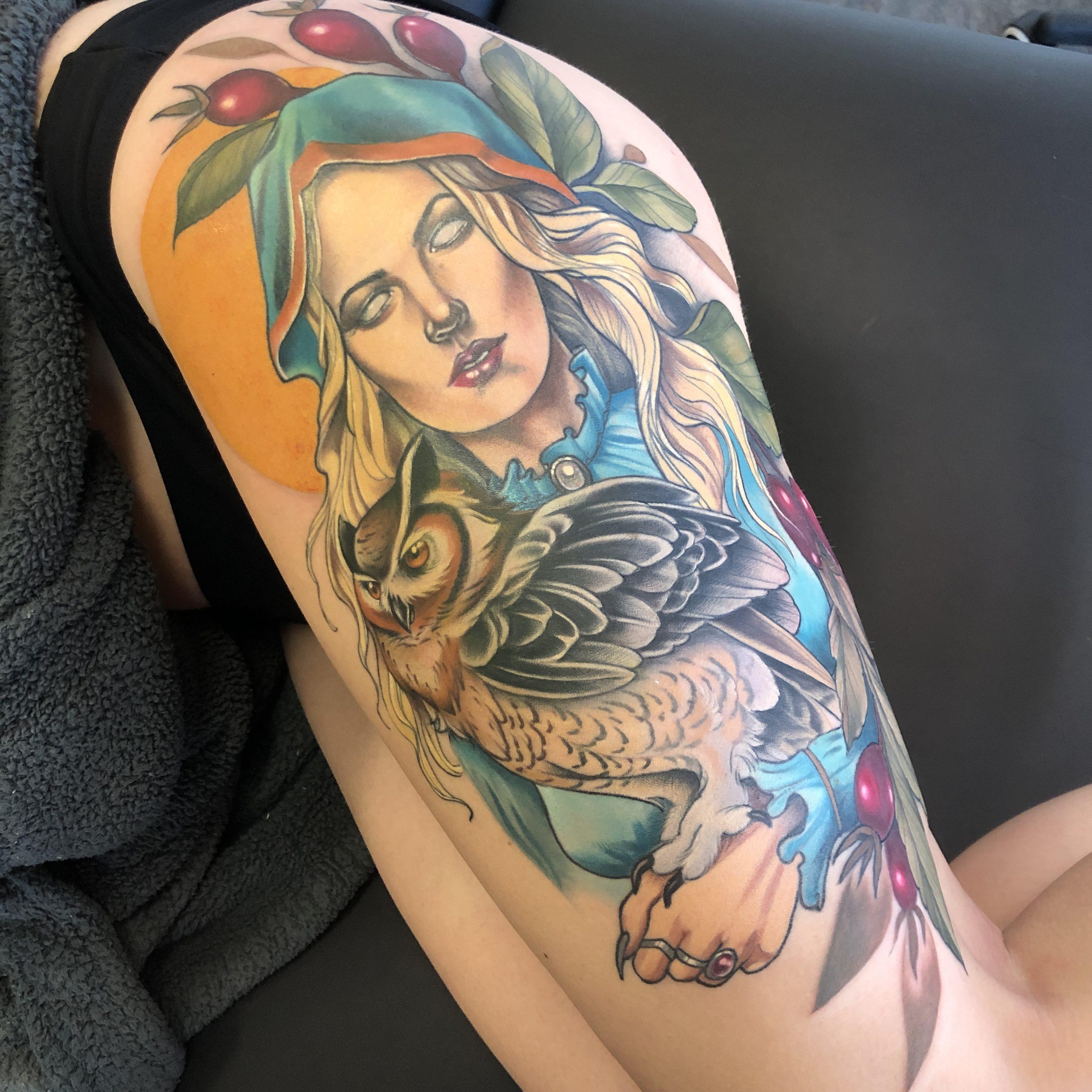 Jessie Grant Tattoo 2019 Okanagan Tattoo Show & Brewfest Artist