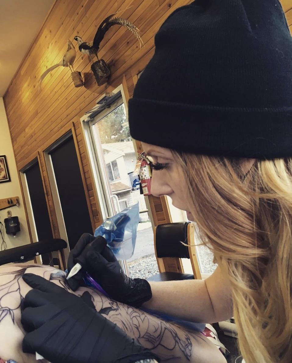 Jessie Grant 2019 Okanagan Tattoo Show & Brewfest Artist