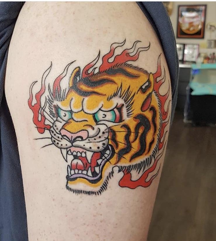 John Salazar Tattoo 2019 Okanagan Tattoo Show & Brewfest Artist