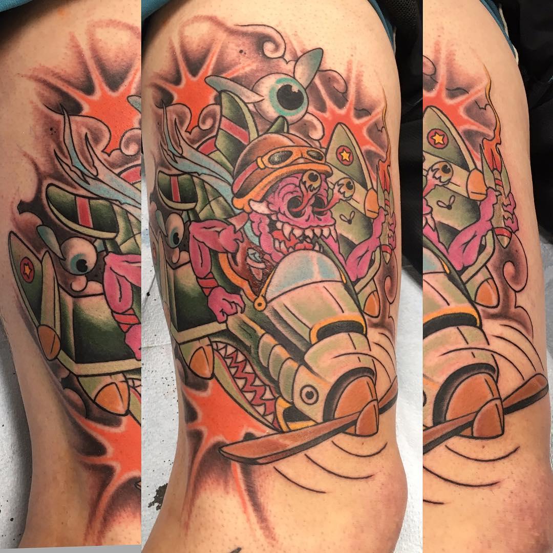KIRK Sheppard Tattoo 2019 Okanagan Tattoo Show & Brewfest Artist