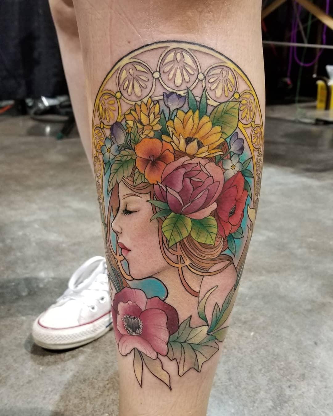 Kaitlin Matthews Tattoo 2019 Okanagan Tattoo Show & Brewfest Artist