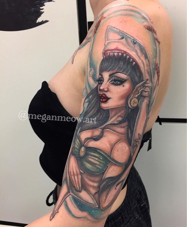 Megan Meow Tattoo 2019 Okanagan Tattoo Show & Brewfest Artist