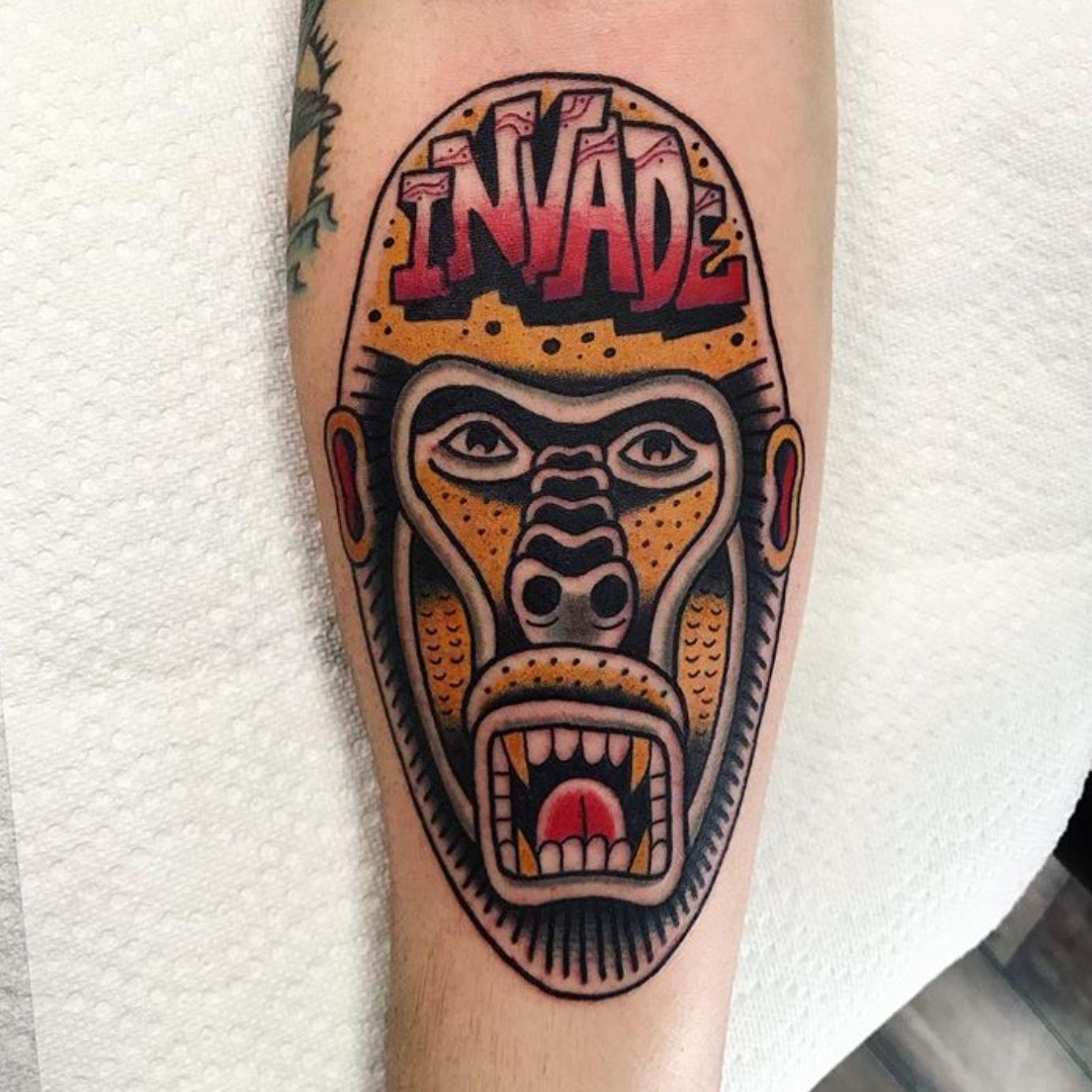 MIke Campitelli Tattoo