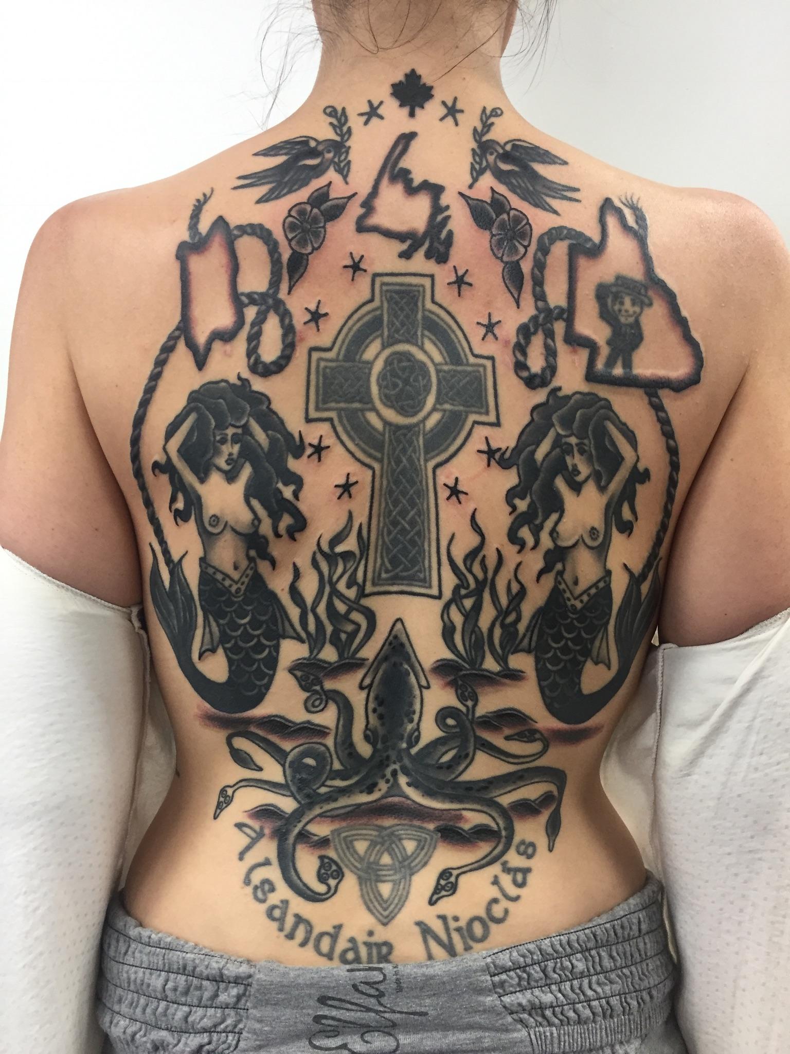 Remy Chunixk Tattoo 2019 Okanagan Tattoo Show & Brewfest Artist