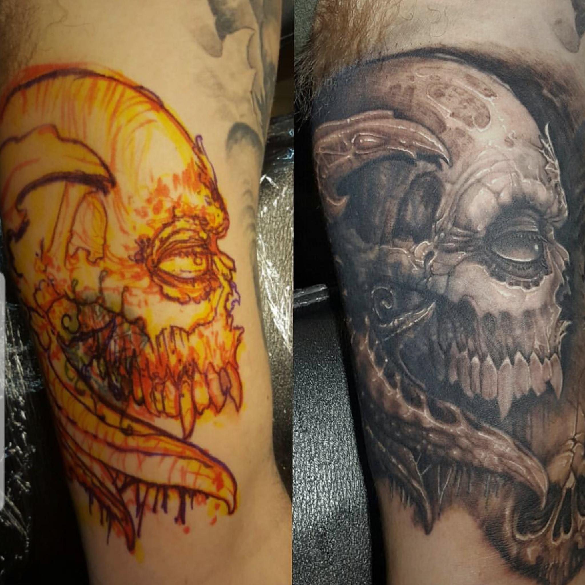 Roadkill Riley Tattoo 2019 Okanagan Tattoo Show & Brewfest Artist
