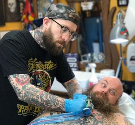 Ryan Halter 2019 Okanagan Tattoo Show & Brewfest Artist