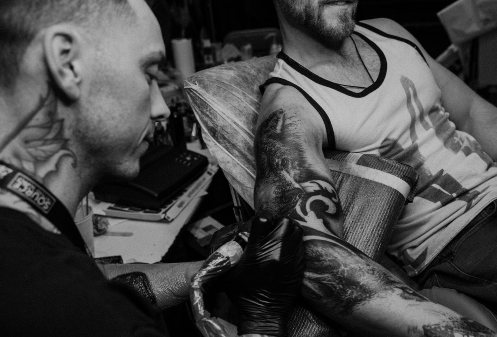 Scott Hart 2019 Okanagan Tattoo Show & Brewfest Artist