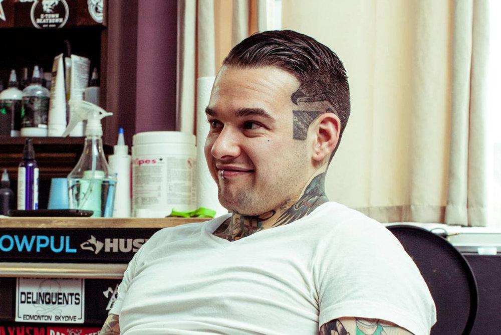 Shan Claydon 2019 Okanagan Tattoo Show & Brewfest Artist