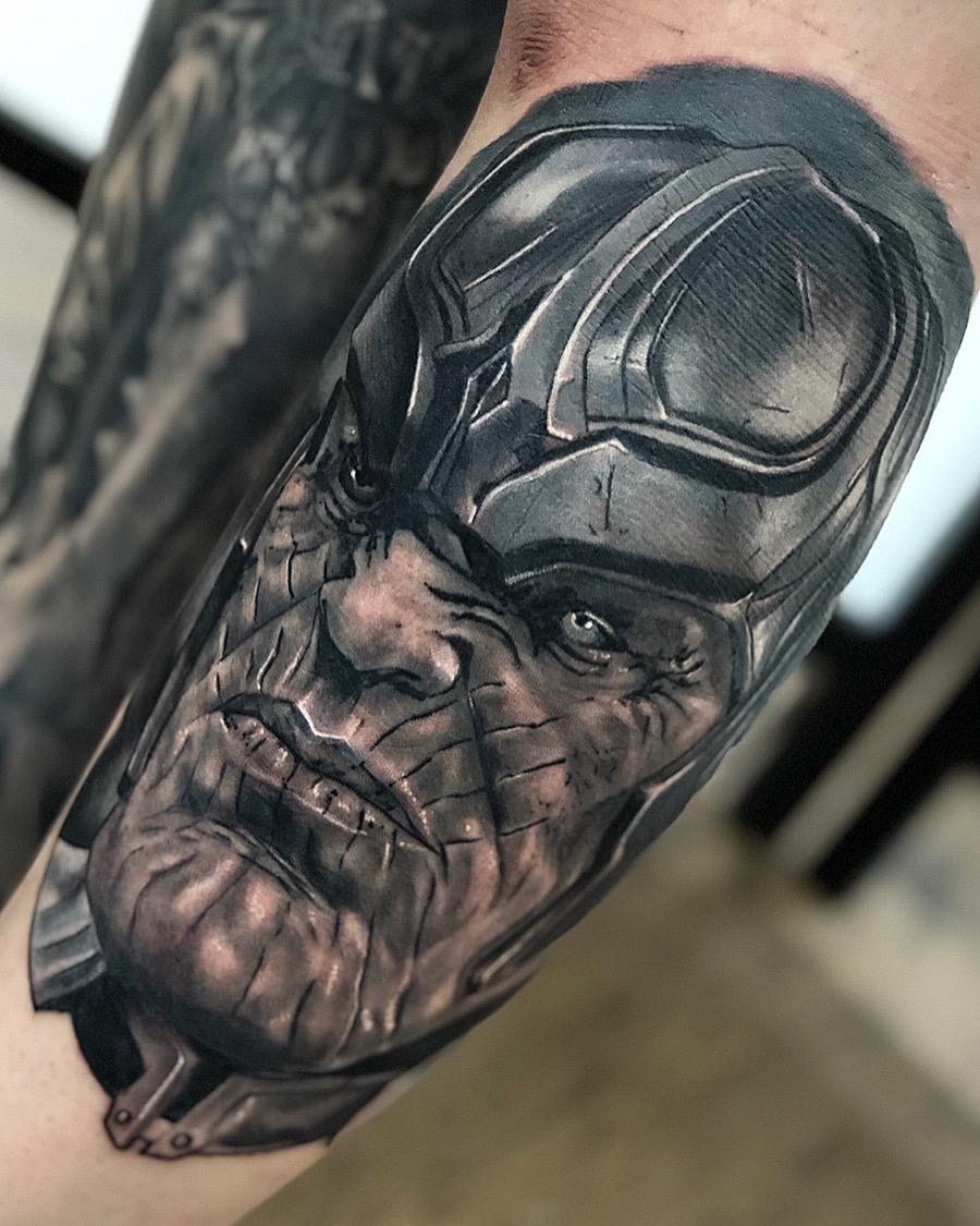 cristopher labarca tattoo 2019 Okanagan Tattoo Show & Brewfest Artist