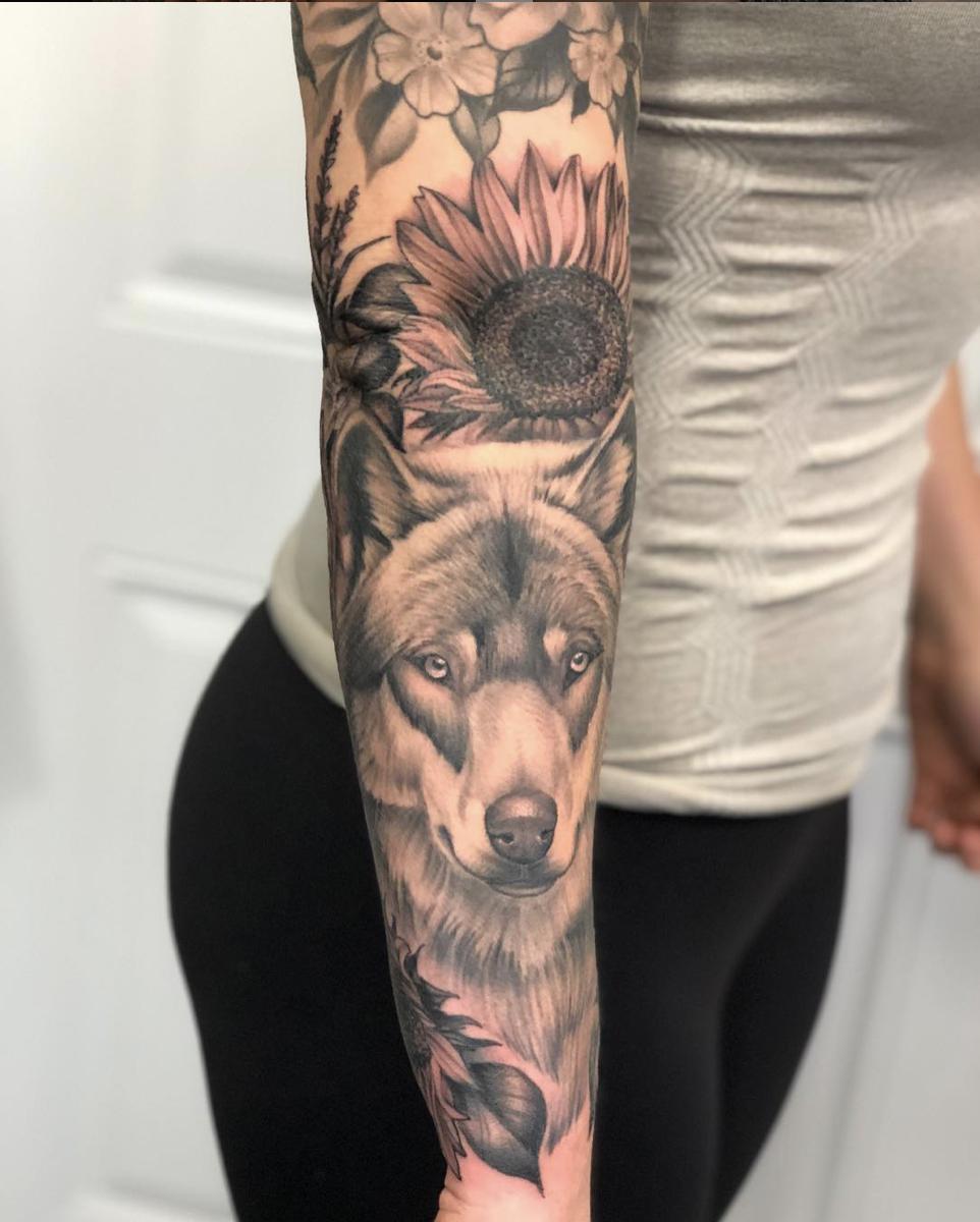 kerri Robinson Tattoo 2019 Okanagan Tattoo Show & Brewfest Artist